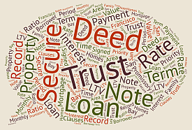 graphic of trust deed terminology